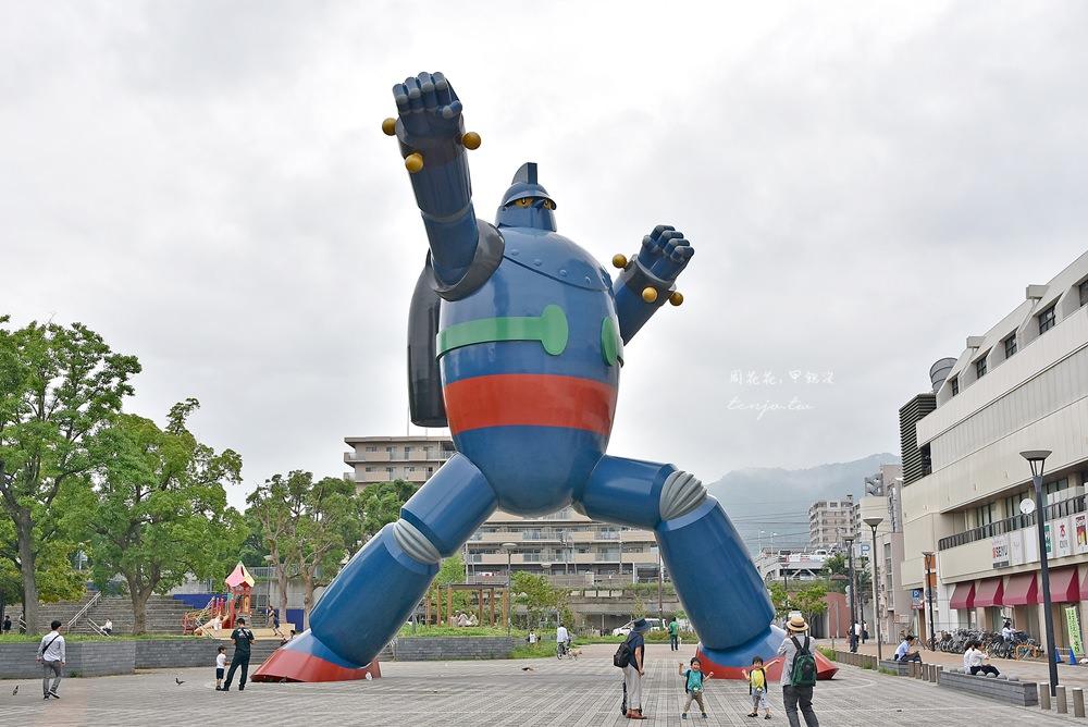 【神戶一日遊】鐵人28號若松公園 一比一超巨大模型!新長田站、西代站景點推薦