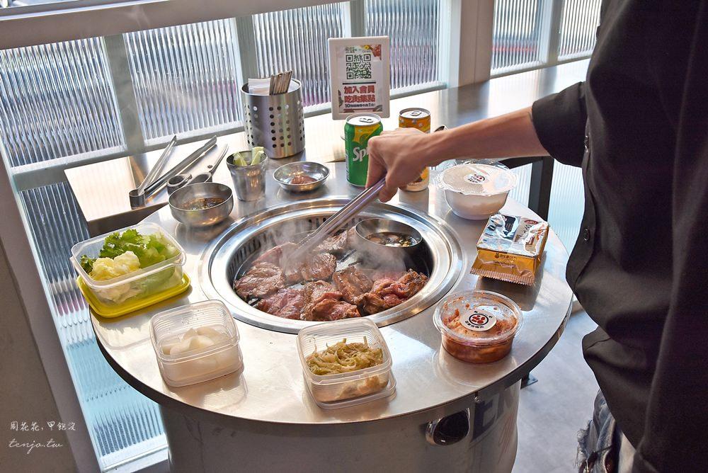 【信義區美食】新村站著吃烤肉 韓國首爾超人氣烤牛肉!菜單價位、排隊候位攻略