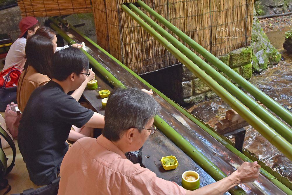 【京都貴船神社】ひろ文 夏季限定川床流水麵!僅此一家排隊也要吃的美食