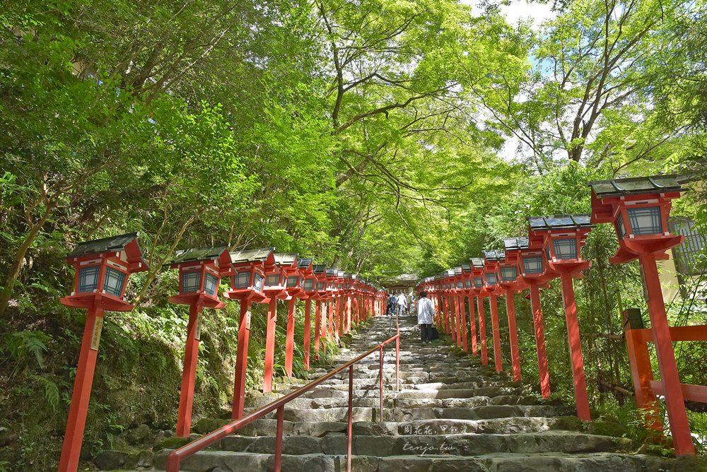 【關西景點推薦】貴船神社 夏天京都近郊一日遊!交通方式、流水麵排隊攻略