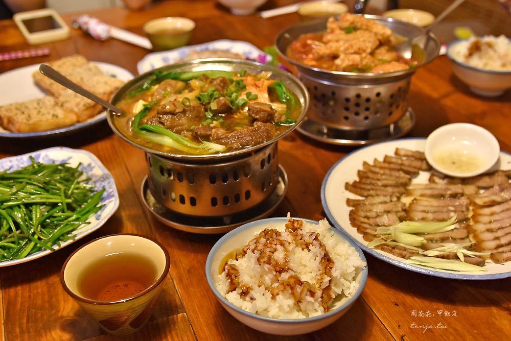 【台北古亭美食】晉江茶堂 平價好吃客家菜!划算合菜附擂茶麻糬、豬油拌飯吃到飽