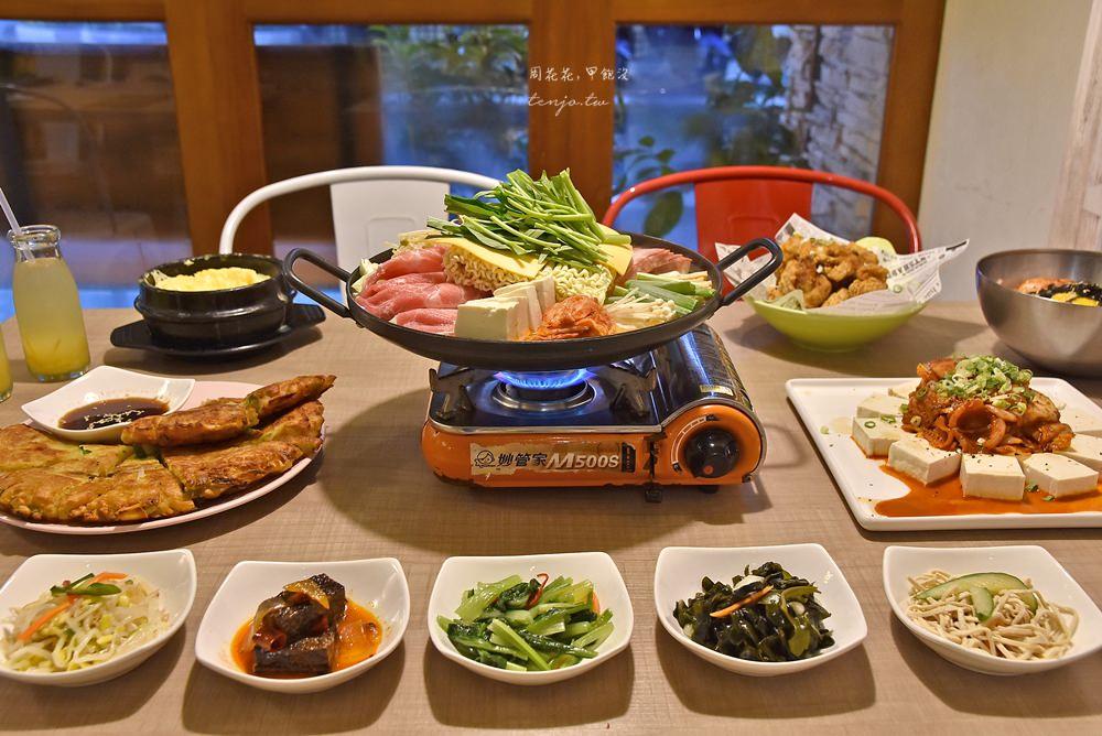 【台北韓式料理】安妞韓食館 中山雙連捷運站美食推薦!平價商業午餐cp值高