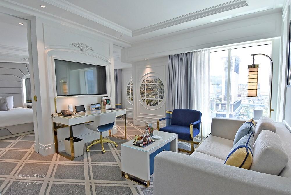 【澳門住宿】澳門巴黎人酒店香檳套房 極致奢華的度假享受!機加酒自由行推薦