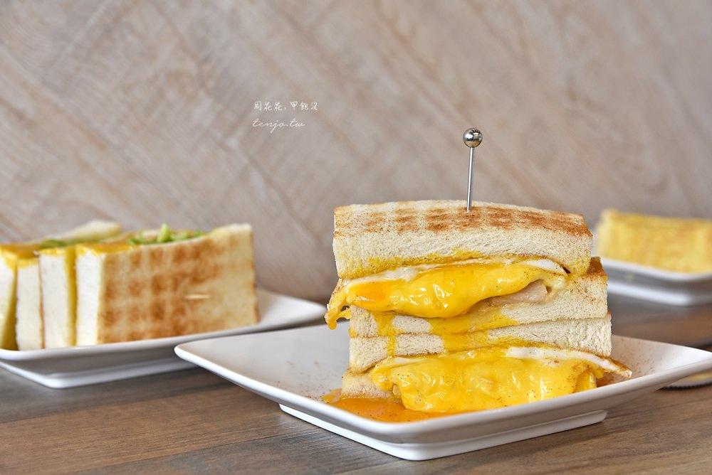 【台北美食】可蜜達Comida北門店 起士肉蛋雙重奏烤吐司!好吃的古早味蛋餅