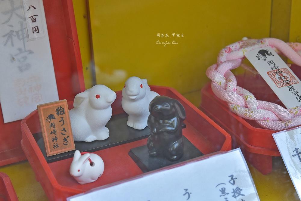 【京都景點】東天王岡崎神社 充滿兔子的特色可愛神社!求子安產、結緣除厄