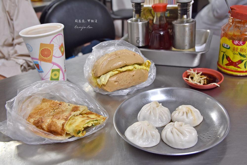 【中山站美食】四海豆漿大王 30年老店!日本韓國人都愛的燒餅油條中式早餐