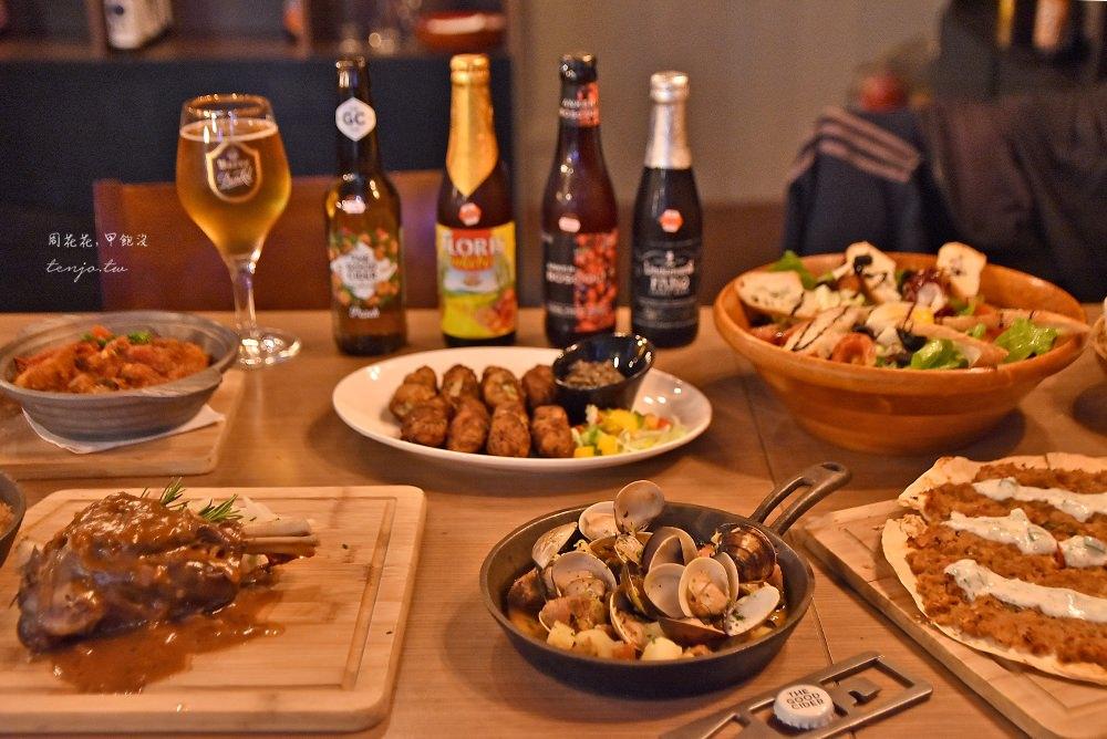 【台北東區美食】ABV地中海餐酒館 平價世界精釀啤酒餐廳,不限時還有運動賽事轉播