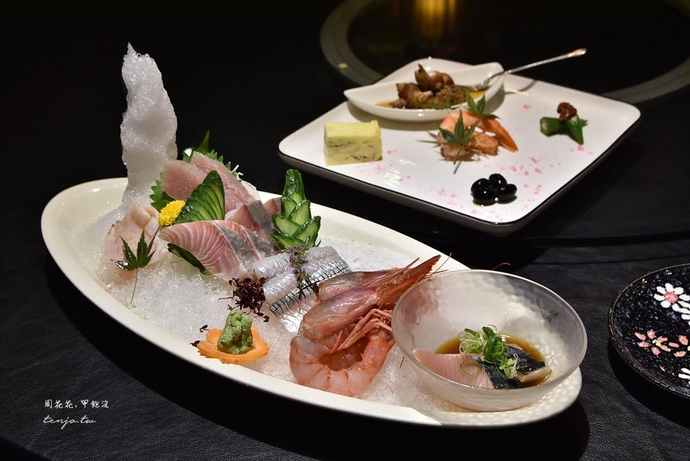 【松山美食】山頂藏海 和漢混血無菜單料理,整桌海鮮只要800元起平價高cp值