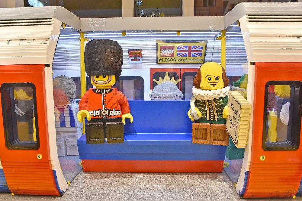 【倫敦景點】全球最大LOGO樂高旗艦店!英國限定商品超好買,萊斯特廣場近柯芬園