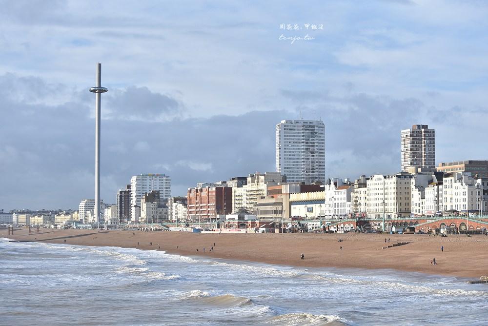 【倫敦近郊一日遊】布萊頓Brighton 英國晴天小鎮海邊渡假勝地!火車交通景點推薦
