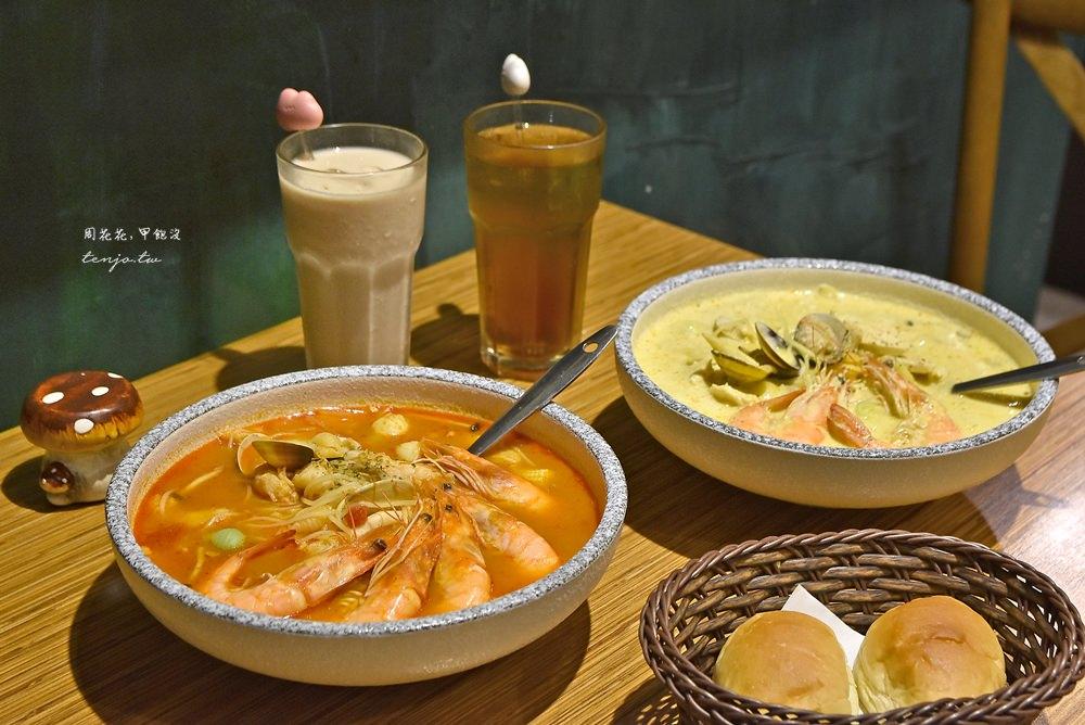 【桃園美食】義匠義式湯麵同德店 藝文特區義式料理推薦!好吃特別的湯義大利麵