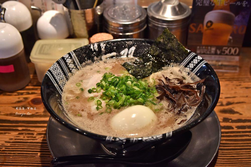 【福岡美食】博多一双 男子漢濃厚豚骨拉麵!tabelog3.71分,博多車站附近最強