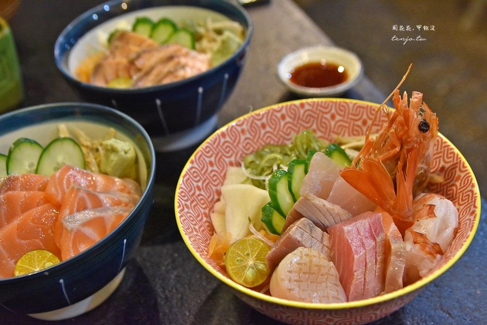 【台北中山站美食】礫川日本料理 很多人推薦平價高cp值生魚片海鮮丼飯