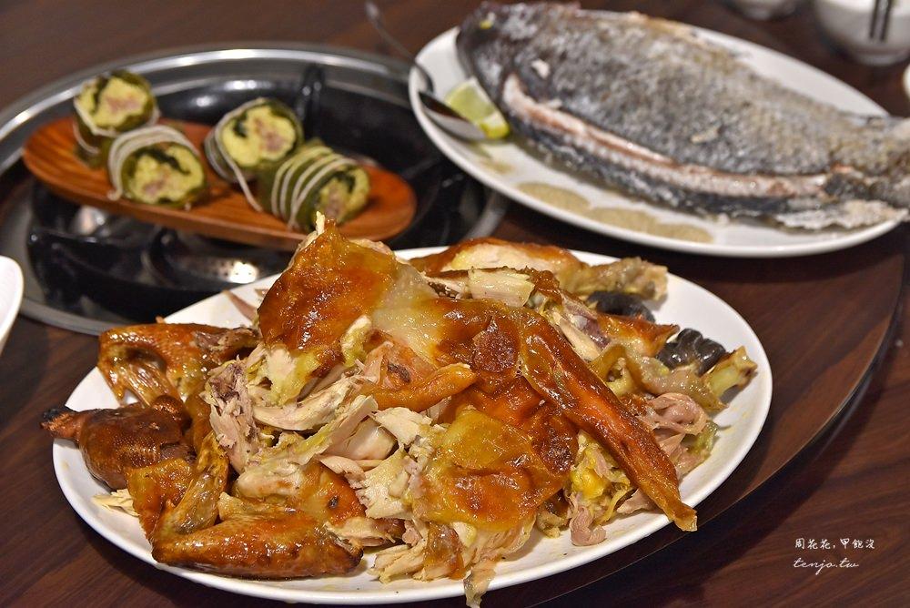 【台東池上美食】197風味餐 原住民料理(原阿部工作坊) 好吃野菜鍋、烤雞烤魚
