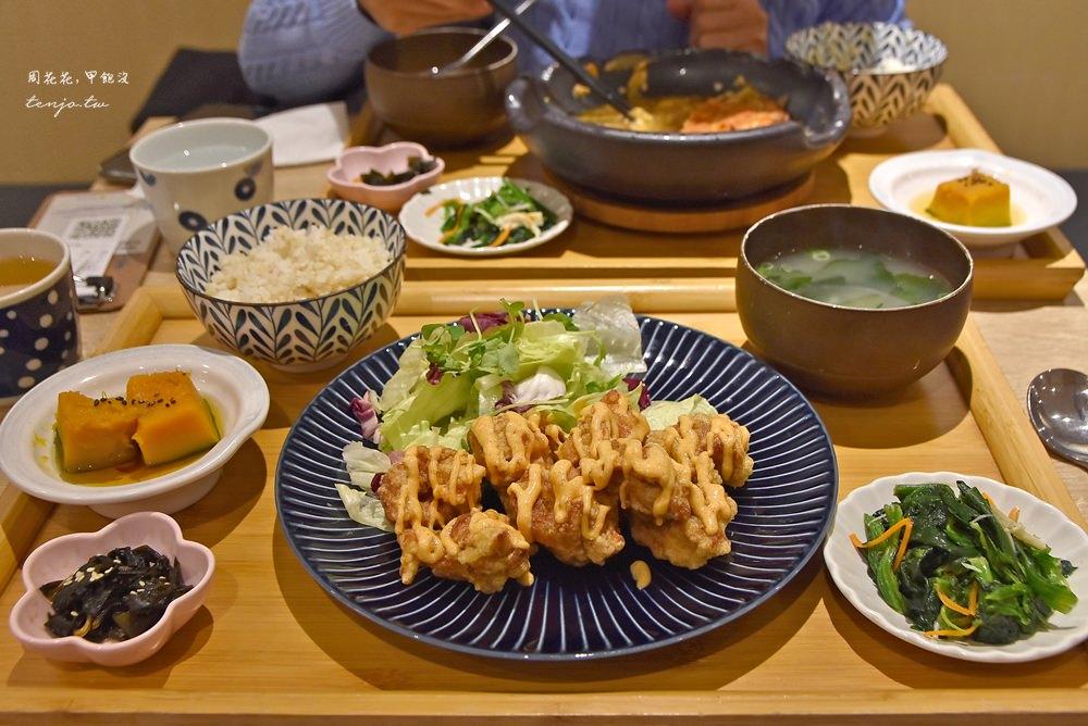 【國父紀念館美食】GOHAN御飯食事處 平價日式定食推薦,白飯味噌湯吃到飽