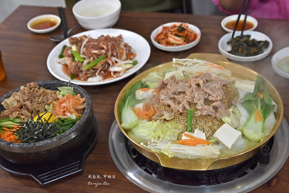 【新北市土城美食】韓香園韓國料理韓式燒烤 平價大份量cp值超高!小菜吃到飽