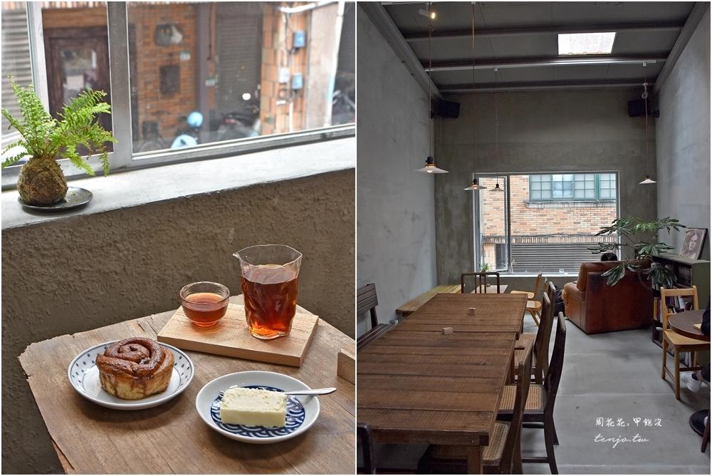 【信義安和咖啡廳】Congrats Café 早餐開到深夜不限時咖啡店 美味肉桂捲、手作甜點