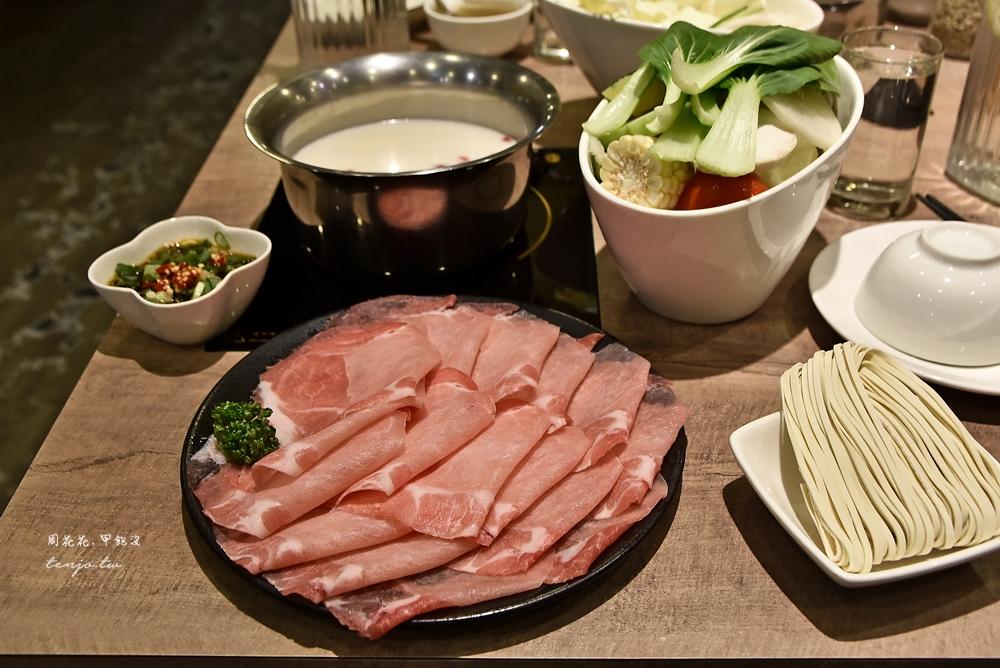 【信義安和美食】品湯。白色麻辣鍋專賣店 通化夜市特色老火湯火鍋,附餐吃到飽