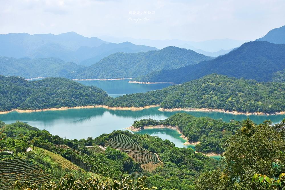 【新北石碇景點】千島湖鱷魚島 最佳拍照點觀景台推薦!怎麼去交通、一日遊行程安排
