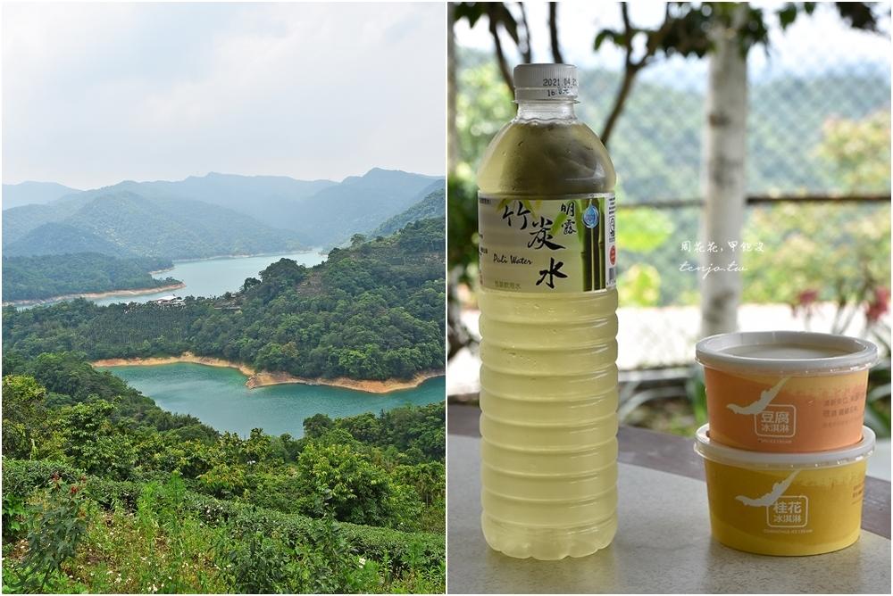 【石碇美食餐廳】八卦茶園 特色茶油風味餐平價美味,觀景台眺望千島湖鱷魚島