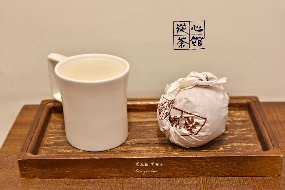 【萬華西門町美食】從心茶館 守舊時尚中式早午餐!好吃素食飯糰、包子饅頭、鍋煮奶茶