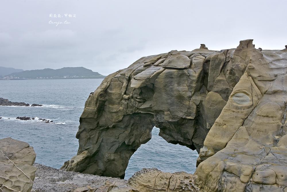 【新北市瑞芳景點】深澳岬角象鼻岩、酋長岩 怎麼去交通開車公車、附近景點美食推薦