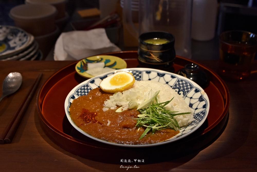 【信義安和美食】通庵熟成咖哩 28天秘製熟成!溫度深度兼具的台北好吃咖哩飯推薦