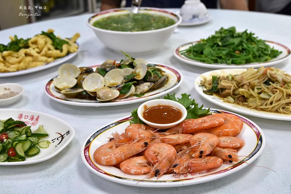 【台東富岡漁港美食】港口海產店 平價高cp值活海鮮餐廳推薦!40年老店在地人高評價