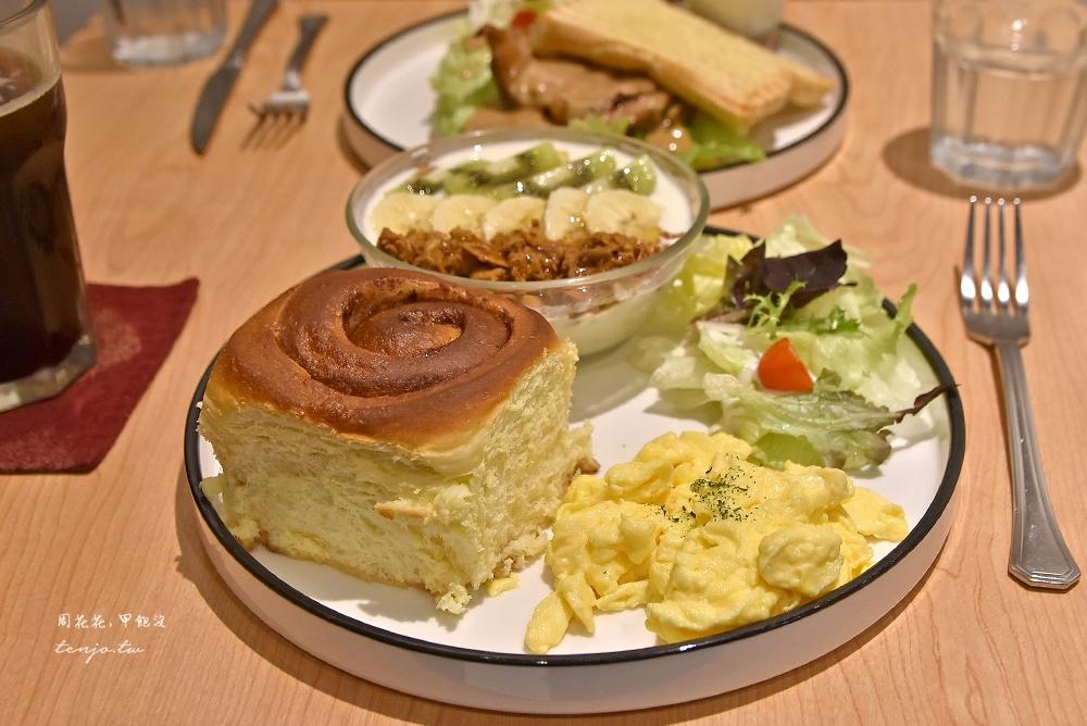 【捷運中山雙連站美食】Miss V Bakery Cafe赤峰店 肉桂捲早午餐推薦,甜點也好吃