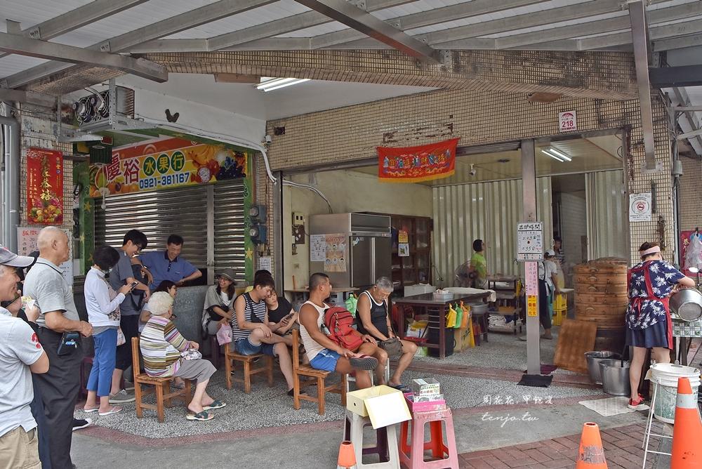 【宜蘭美食】礁溪包子饅頭專賣店 隨時都在人隊的人氣老店,在地人推薦小吃