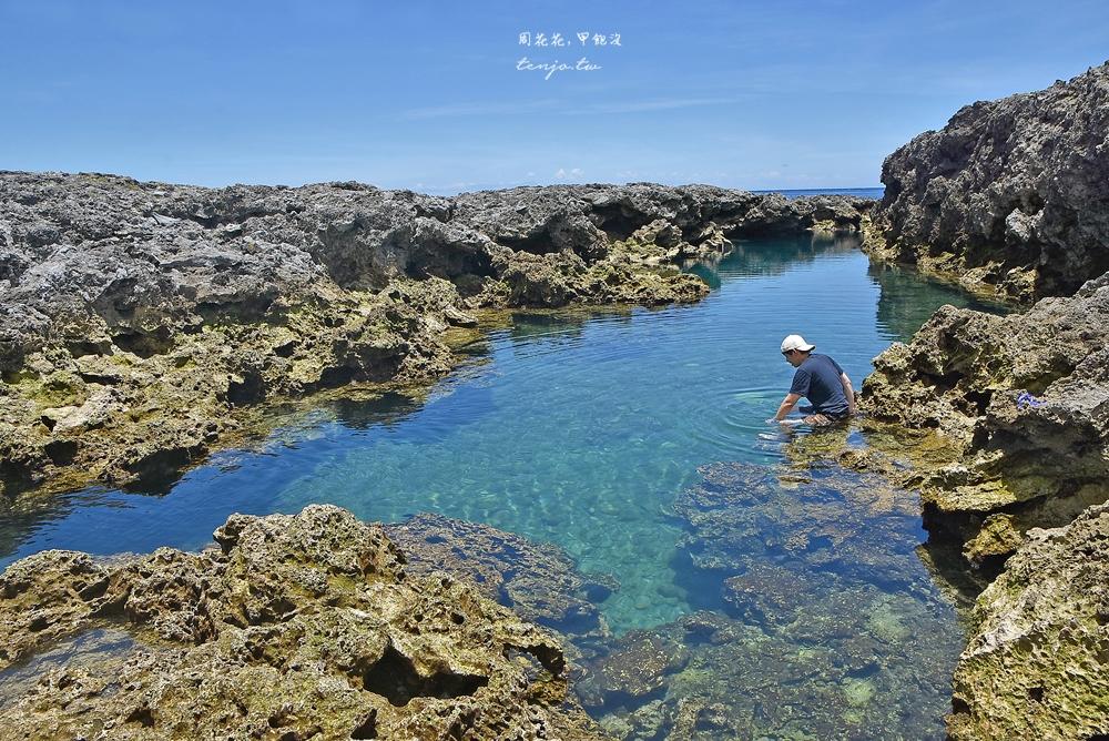 【蘭嶼景點】朗島秘境 私心最推薦的蘭嶼戲水浮潛點!蔚藍海水小丑魚清晰可見