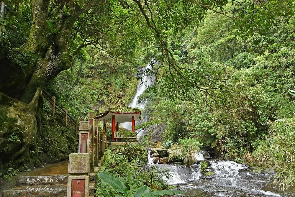 【宜蘭礁溪景點】五峰旗風景區 一二三層瀑布封閉開放!步行時間、停車場收費資訊整理