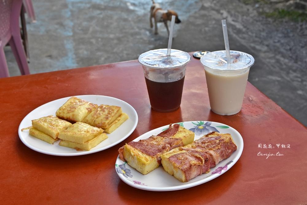 【蘭嶼美食推薦】美亞美早餐店 東清部落看日出必吃!招牌法式培根捲、特製法式吐司