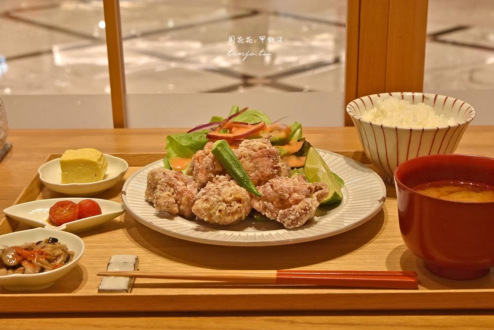 【微風南山美食】小器食堂 質感日式定食推薦!白飯味噌湯免費續加,吃巧也吃飽