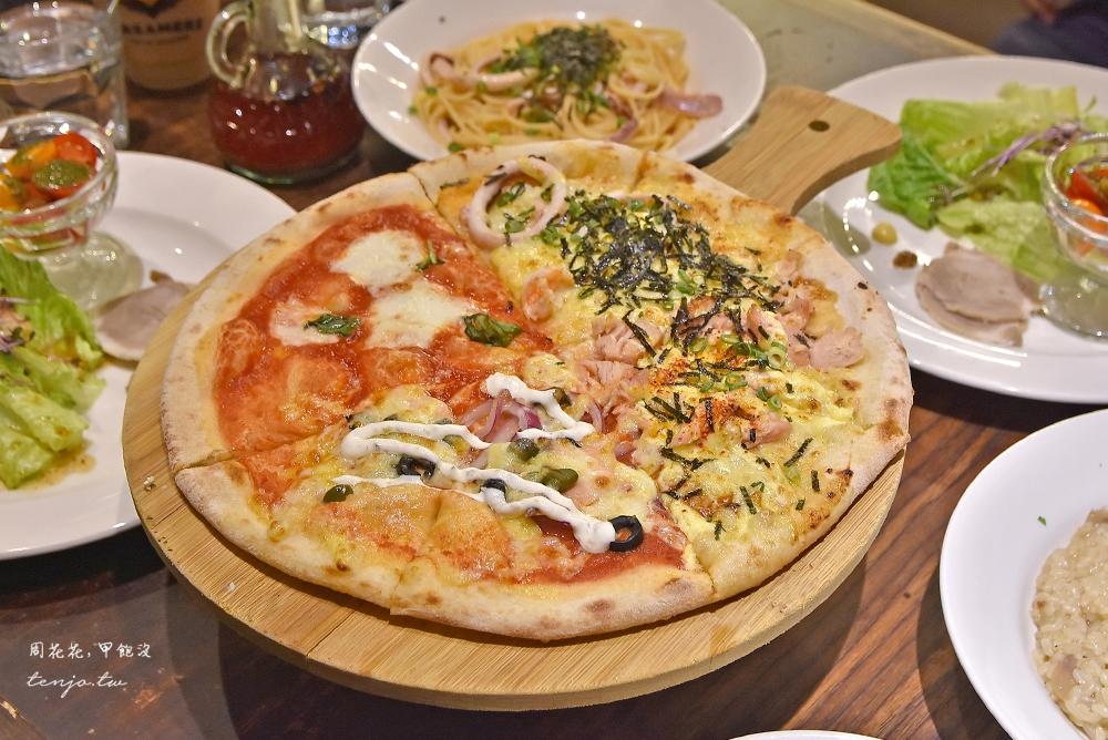 【台北東區美食】JAPOLI義大利餐酒館 忠孝復興聚會餐廳推薦,平價好吃披薩義大利麵