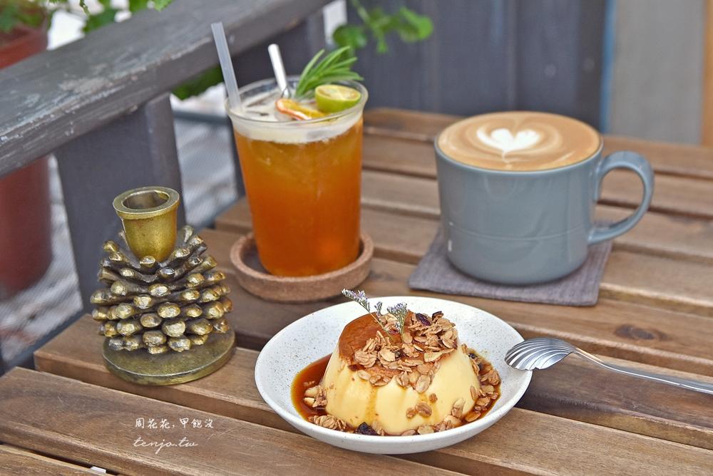 【台北東區美食】李氏咖啡 Ariel lee Cafe 忠孝敦化咖啡廳推薦,好吃的焦糖布丁