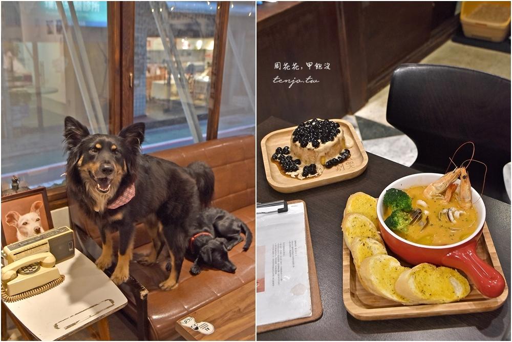 【台北食記】浪浪別哭 毛小孩中途咖啡廳推薦,用愛心陪伴流浪動物被領養