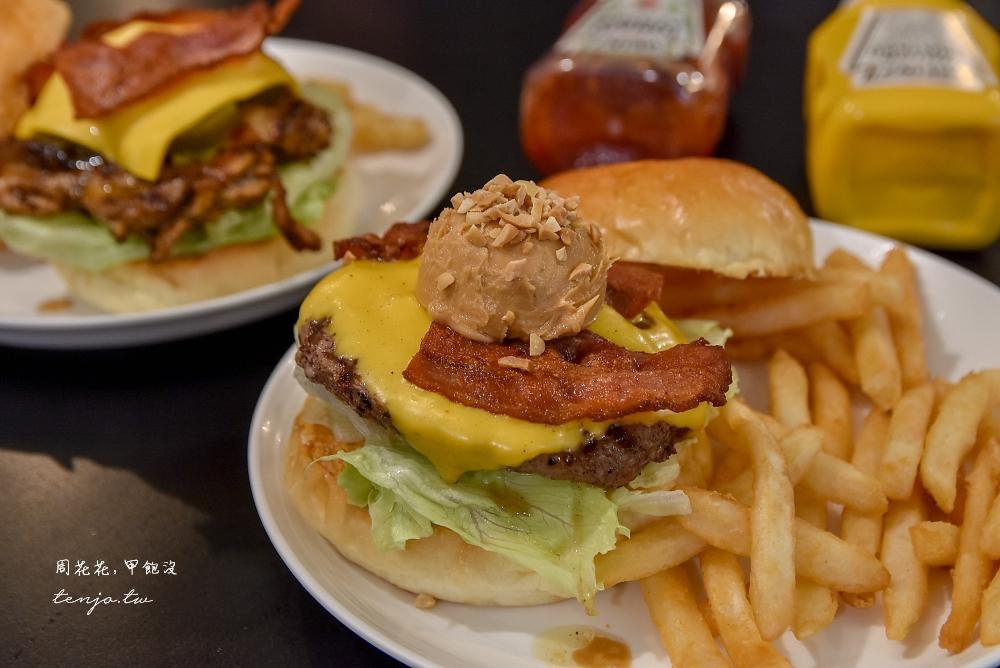 【台北松菸美食推薦】AWESOME BURGER澳森漢堡 平價好吃美式餐廳近捷運市政府站