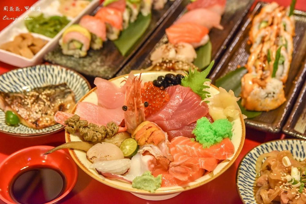 【板橋日本料理】八八食堂 菜單平價份量足!漁港直送新鮮生魚片,壽司卷、定食都好吃