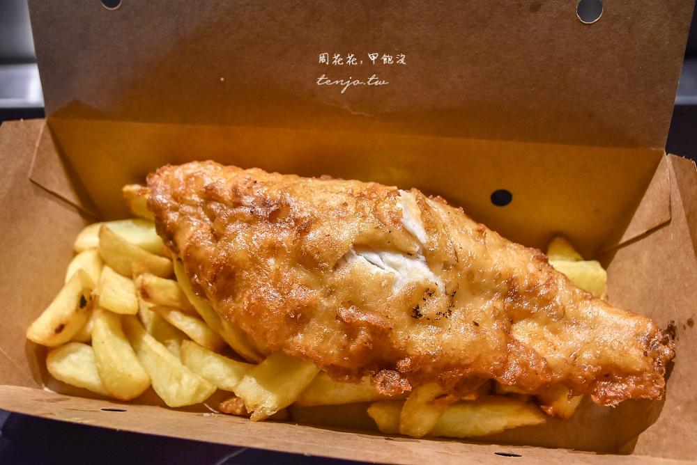 【英國美食】Fish! Kitchen 號稱倫敦最好吃的炸魚薯條!百年波羅市場必吃美食小吃推薦