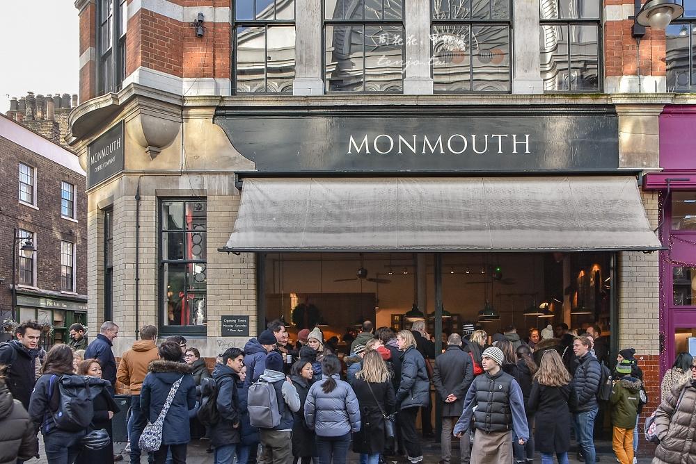 【英國咖啡館推薦】Monmouth Coffee 倫敦最具代表性獨立咖啡店!超人氣永遠在排隊