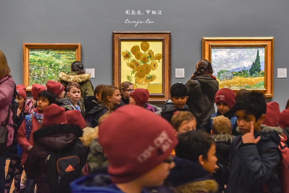 【英國倫敦景點】國家美術館 免門票免費入館!推薦必看梵谷向日葵,同遊特拉法加廣場