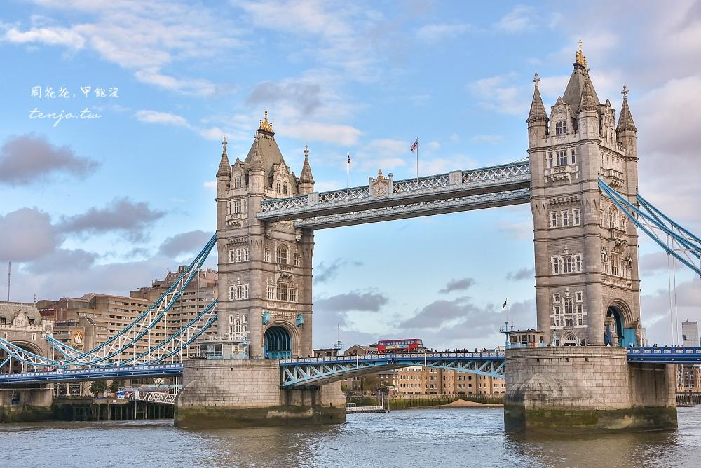 【英國景點】倫敦塔橋Tower Bridge 最經典倫敦地標推薦!倫敦鐵橋垮下去故事不是這