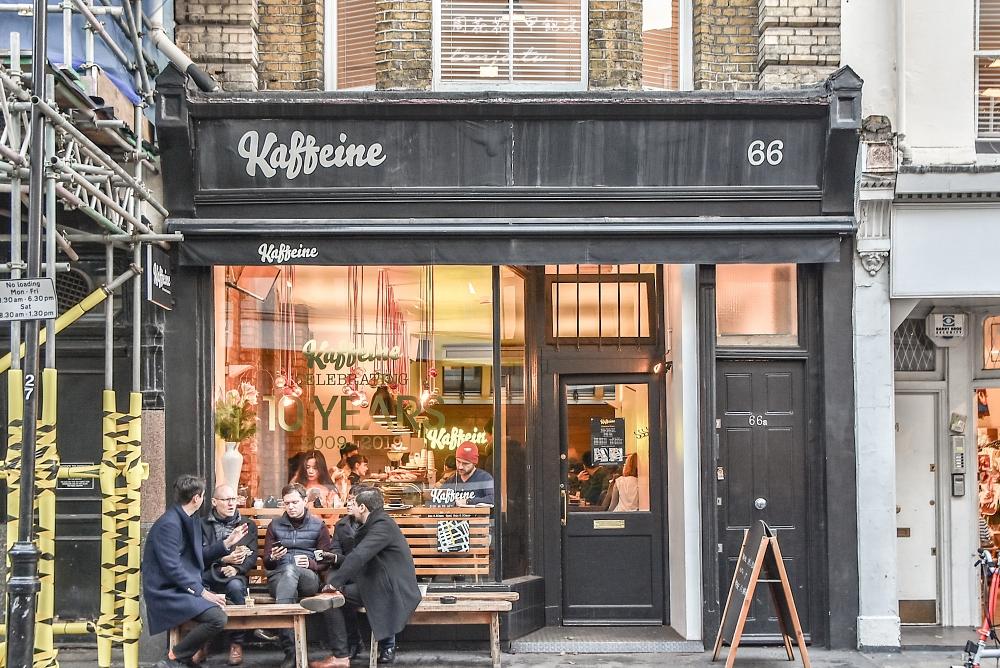 【英國咖啡店】Kaffeine 倫敦排名前三名咖啡館!私心最愛最推薦的一杯好喝卡布奇諾