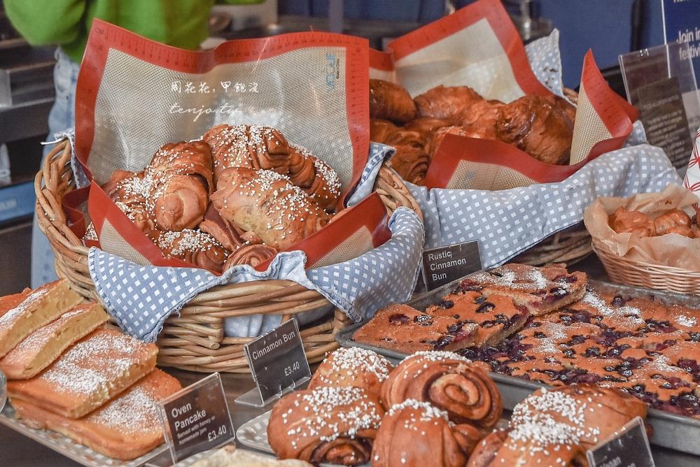 【英國倫敦美食】Nordic Bakery 正統北歐肉桂捲!來自芬蘭SOHO區麵包店咖啡館推薦