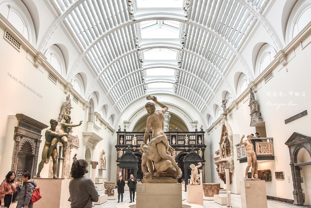 【英國倫敦景點】V&A博物館 多達300萬件世界一流美術工藝品免費參觀!十足藝術天堂