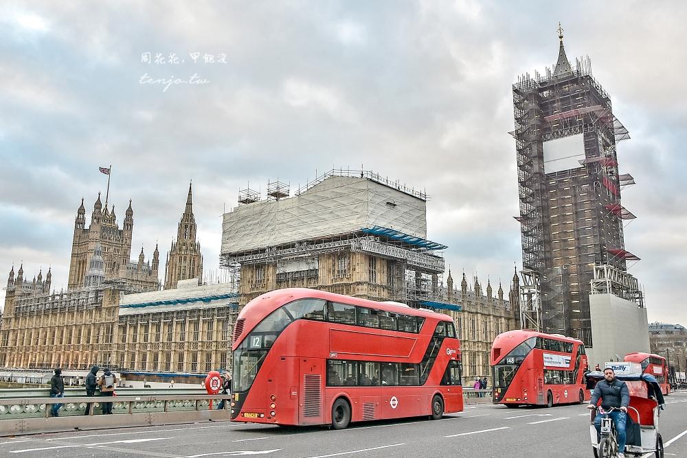 【英國倫敦景點】大笨鐘、倫敦眼、西敏寺一日遊散策,經典倫敦地標旅遊行程規劃推薦
