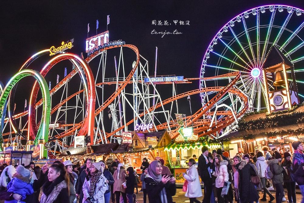 【英國倫敦】海德公園 Winter Wonderland 規模最大聖誕市集嘉年華!免費入場超好玩