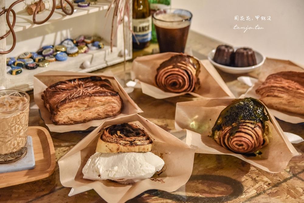 【新竹美食推薦】吉十咖啡 神級肉桂捲多口味菜單隨便點都好吃!千層派更是不能錯過